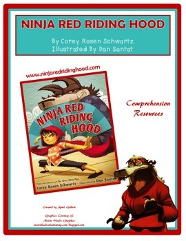 Ninja Red Riding Hood Comprehension Freebie!