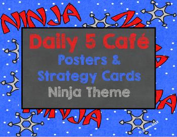Ninja Theme Daily 5 Cafe Menu