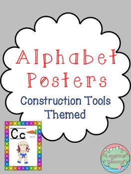 Ninja Themed Alphabet Posters