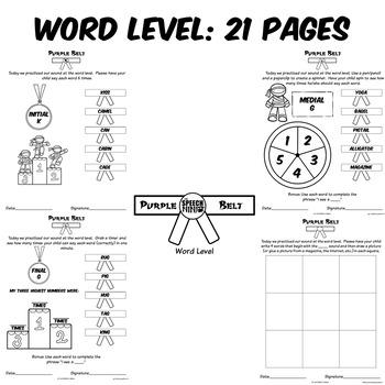 Ninja Themed Articulation Homework for R Free Sample