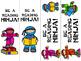 Ninja Themed Bookmarks