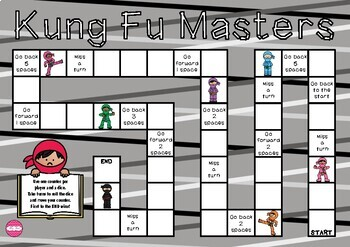 Ninja Themed Game Board