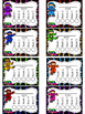 Ninja Themed Punch Card Sampler