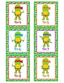 Ninja Turtle Addition Games