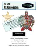 Ninja Turtle Artists-Renaissance