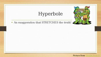 Ninja Turtle Figurative Language Powerpoint