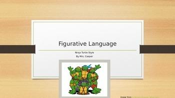 Ninja Turtle Figurative Language Powerpoint