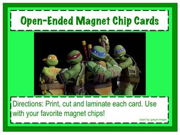 Ninja Turtle Magnet Chip Boards