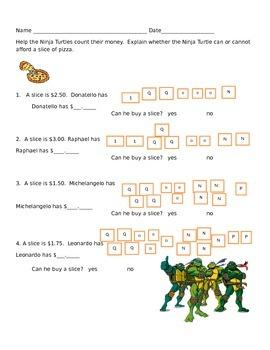 Ninja Turtle Money