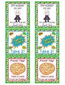 Ninja Turtle Multiplication Games