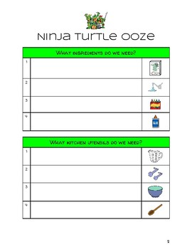 Ninja Turtle Ooze Visuals