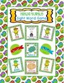 Ninja Turtle Sight Word Game