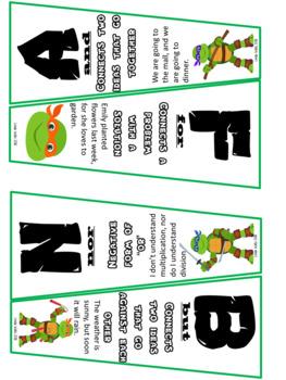 Ninja Turtle themed FANBOYS
