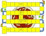 Ninja Turtles Game Board