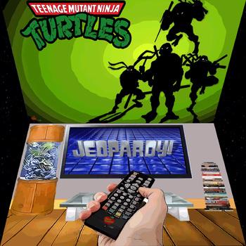 Ninja Turtles & Jeopardy PowerPoint Game Bundle - 2 Customizable Games