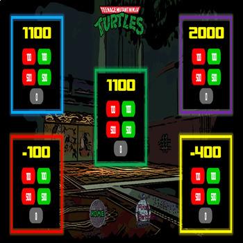 Ninja Turtles PowerPoint Game