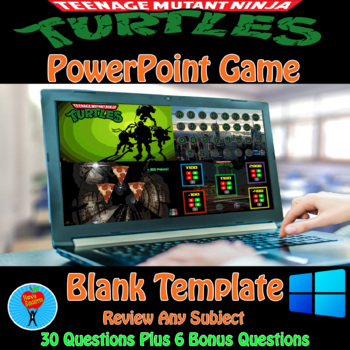 Ninja Turtles PowerPoint Game