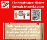 Ninja Turtles Renaissance Artwork Lesson Activity