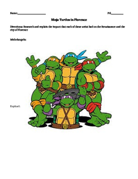 Ninja Turtles in Florence