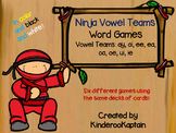 Ninja Vowel Teams Word Games