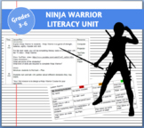Ninja Warrior Literacy Unit