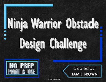 Ninja Warrior Obstacle Design Challenge