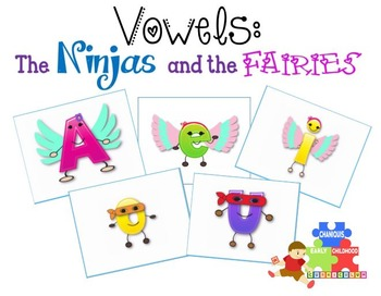 Ninja and Fairy Vowels Pack