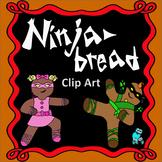Ninjabread Gingerbread Clip Art