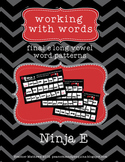 Ninja e (teaching long vowels with ending e - vce)