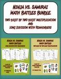 Ninja vs Samurai Math Battles Bundle!
