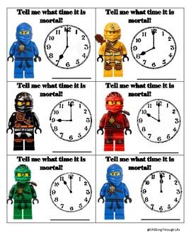 Ninjago - Time to the Hour