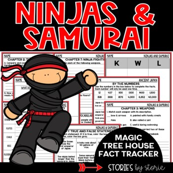 Ninjas and Samurai (Magic Tree House Fact Tracker)