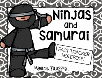 Ninjas and Samurai Fact Tracker Research Guide