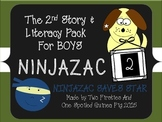 Ninjazac 2 Story and FREEBIE SAMPLE for Boys {Phonics, Pun