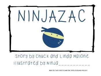 Ninjazac Story & Ninja Literacy Pack {Fluency, Sight Word, Predict, Sequence}