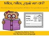 Niños, niños, ¿qué ven ahí? (Activity to go along with Oso pardo, oso pardo)
