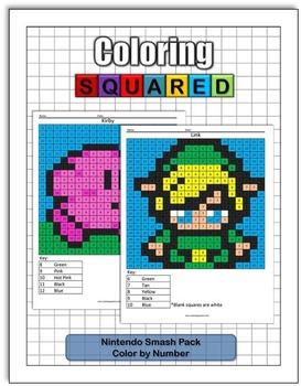 Nintendo Smash Color by Number