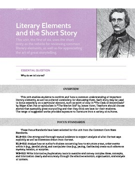 Ninth (9th) Grade Common Core Curriculum Maps in English Language Arts