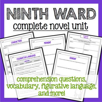 Ninth Ward : Complete Novel Unit