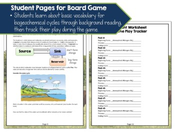Nutrient Cycling: Nitrogen Cycle Board Game