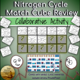 Collaborative Match Cube Review Game Nitrogen Cycle w/Clas