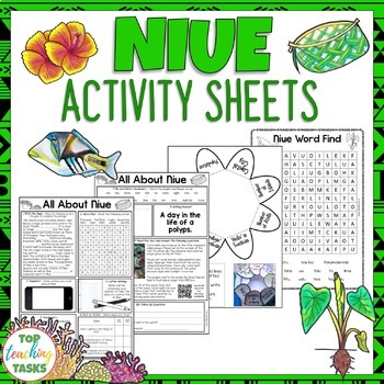 Niue Activity Sheets Reading and Writing Activities