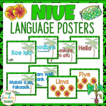 Niue Greetings Introductions Farewells Classroom Display Posters