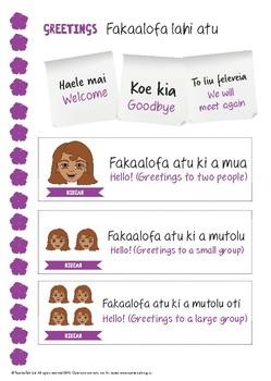 Niue Language Activity