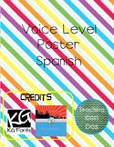 Niveles de Voces (Voice Levels in Spanish) Poster