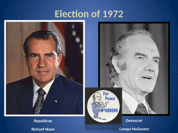 Nixon, Ford, Carter and 1970s power point