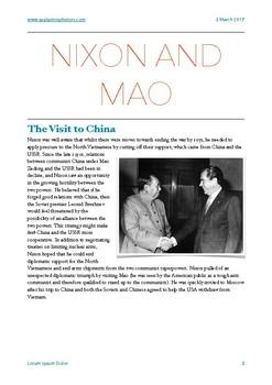 Nixon and Vietnam