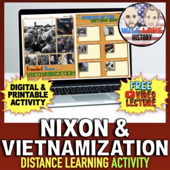 Nixon and Vietnamization Activity
