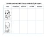 Nixon to Reagan Presidential Graphic Organizer