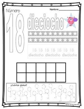 Número práctica (en español)